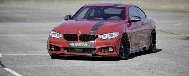 BMW Seria 4 Coupe by Rieger: Exemplu de atitudine