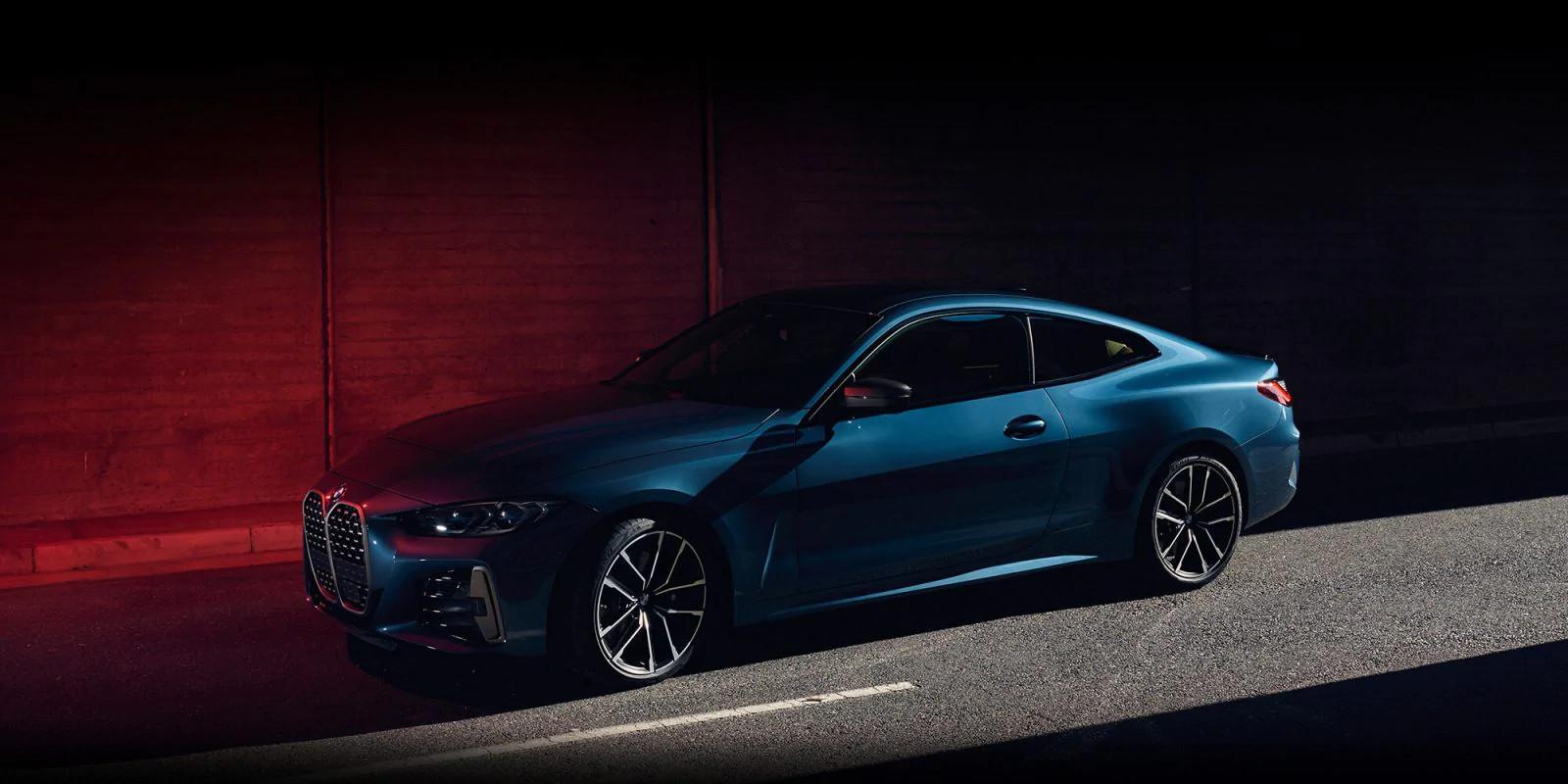BMW Seria 4 Coupe fara numarul de inmatriculare pe fata - BMW Seria 4 Coupe fara numarul de inmatriculare pe fata