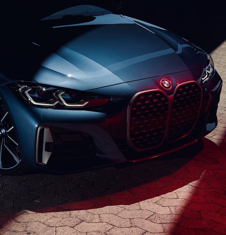 BMW Seria 4 Coupe fara numarul de inmatriculare pe fata