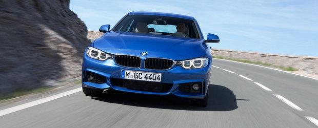 BMW Seria 4 Gran Coupe: galerie foto noua si detalii