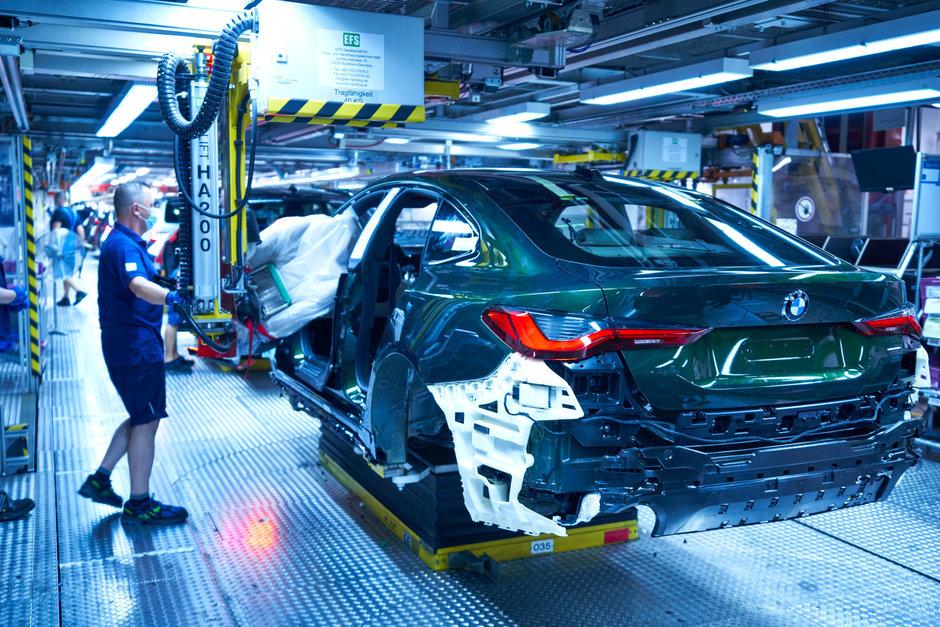 BMW Seria 4 Gran Coupe - Productie