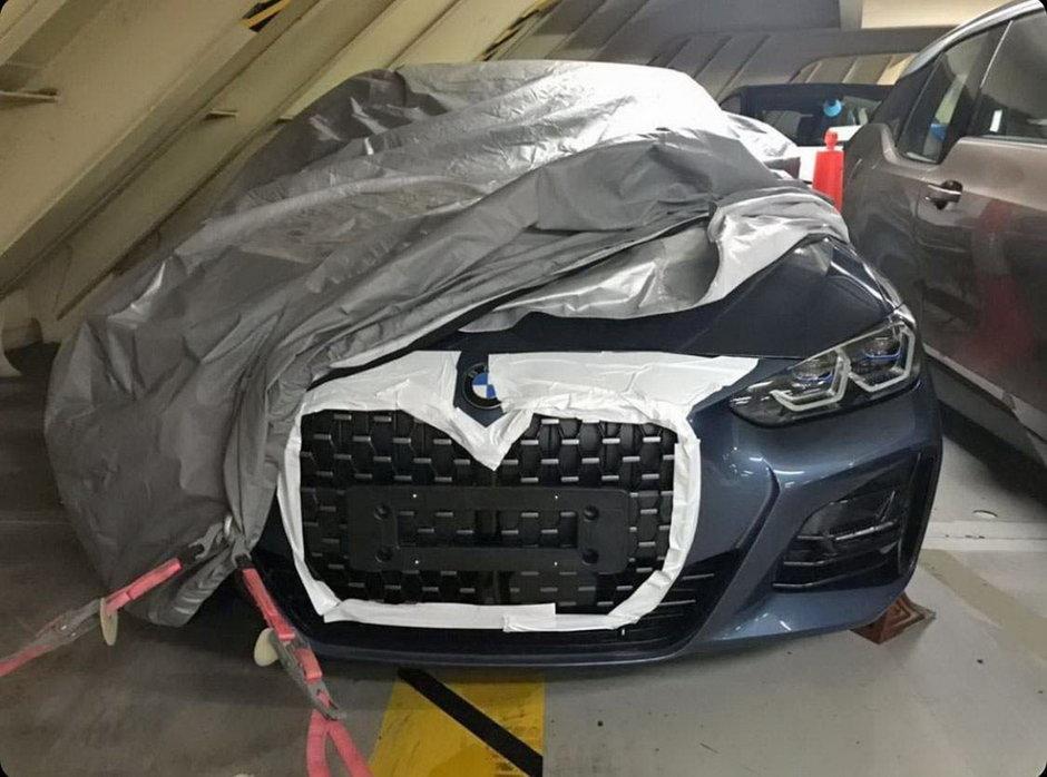 BMW Seria 4 - Noi poze spion