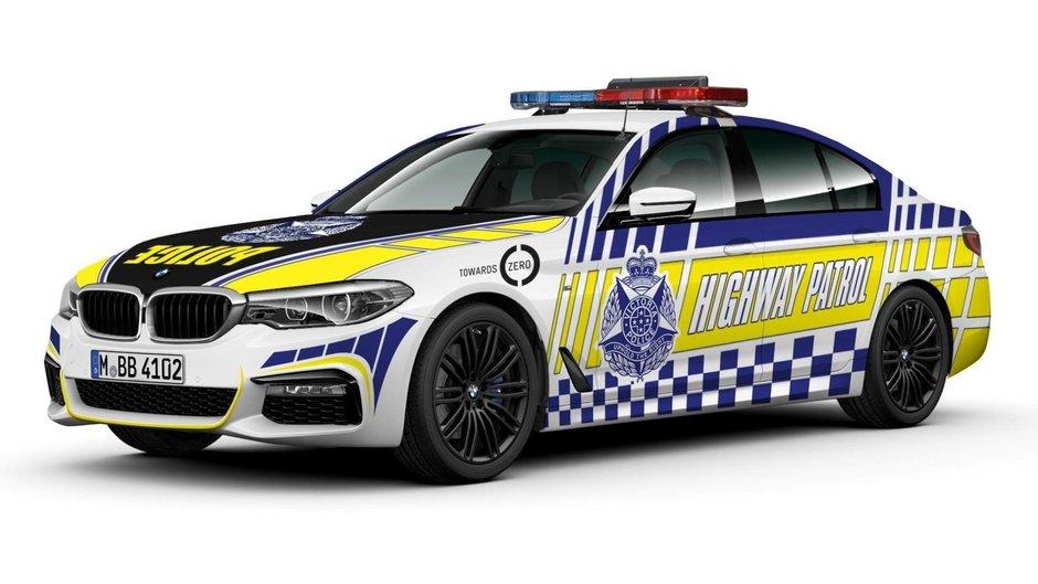 BMW Seria 5 de politie