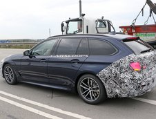 BMW Seria 5 Facelift - Poze Spion