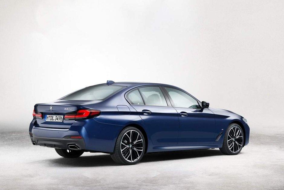 BMW Seria 5 Facelift - Primele poze