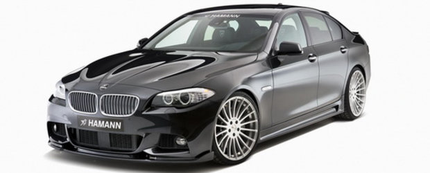 BMW Seria 5 M Sport by Hamann - Cu un pas mai aproape de viitorul BMW M5!
