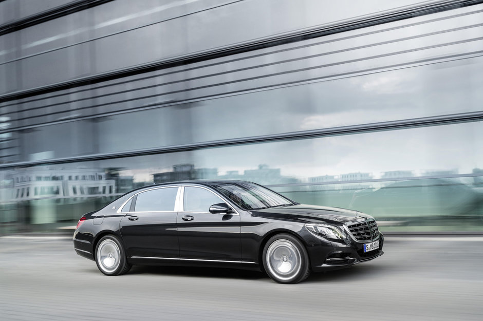 BMW Seria 5, Seria 7 si Mercedes-Maybach S600