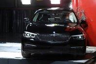 BMW Seria 5 testat de EuroNCAP