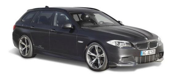 BMW Seria 5 Touring by AC Schnitzer - Stropit cu vin, bagat la cuptor si servit cu toata familia