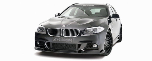 BMW Seria 5 Touring by Hamann - Un break cu aspect feroce
