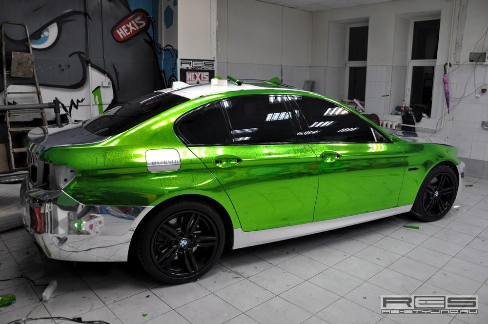 Poze Masini Tunate Bmw Seria 5 Verde Cromat 300187
