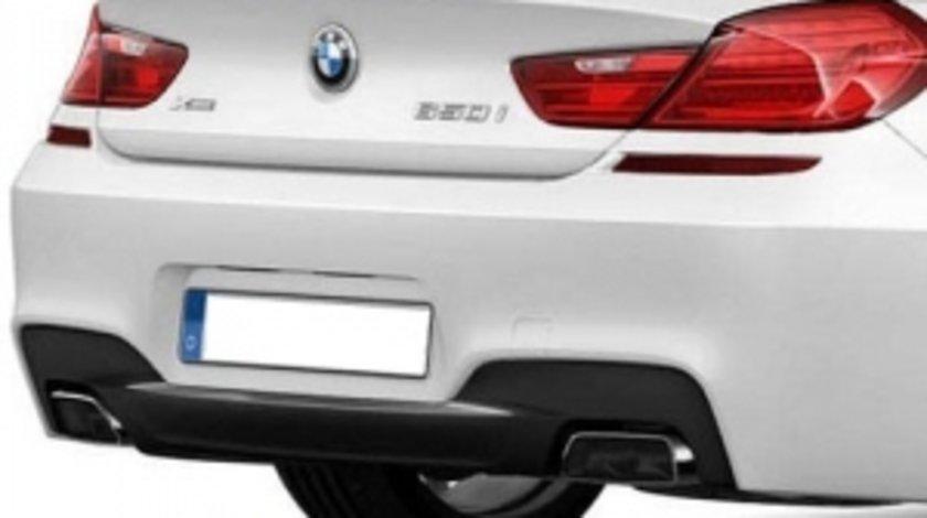BMW seria 6 F13 Coupe Difuzor bara spate M dark shadow