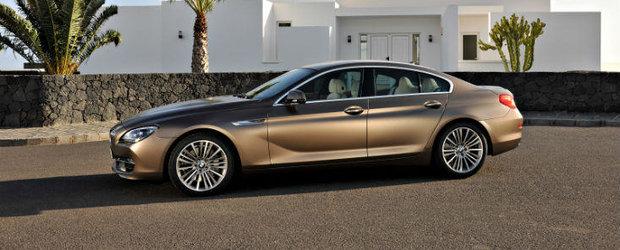 BMW Seria 6 Gran Coupe - detalii complete