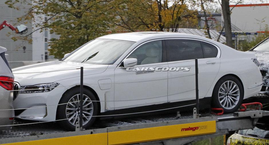 BMW Seria 7 electric