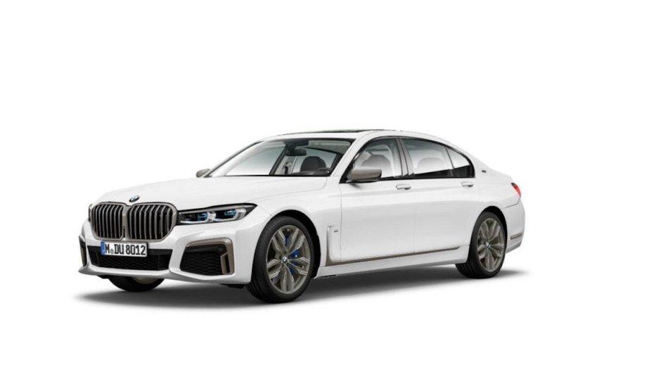 BMW Seria 7 Facelift - Poze noi