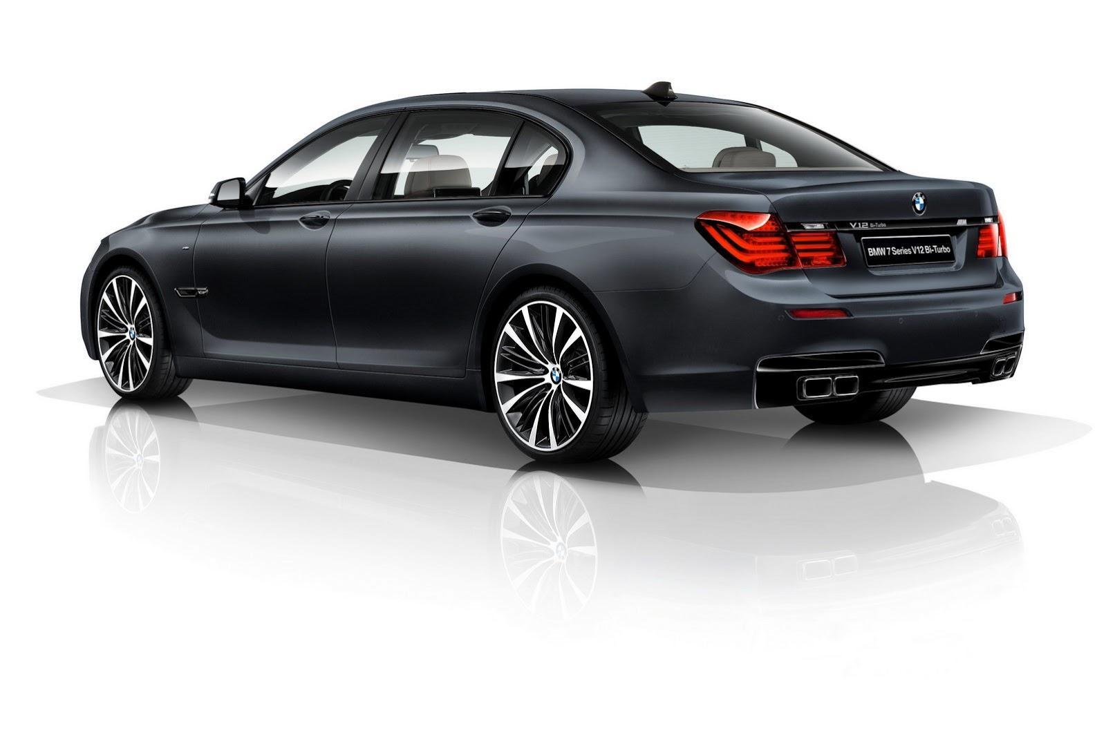 BMW Seria 7 V12 Bi-Turbo Limited Edition - BMW Seria 7 V12 Bi-Turbo Limited Edition