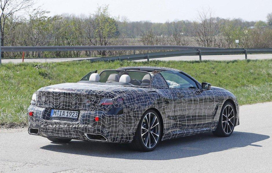 BMW Seria 8 Cabrio - Poze interior
