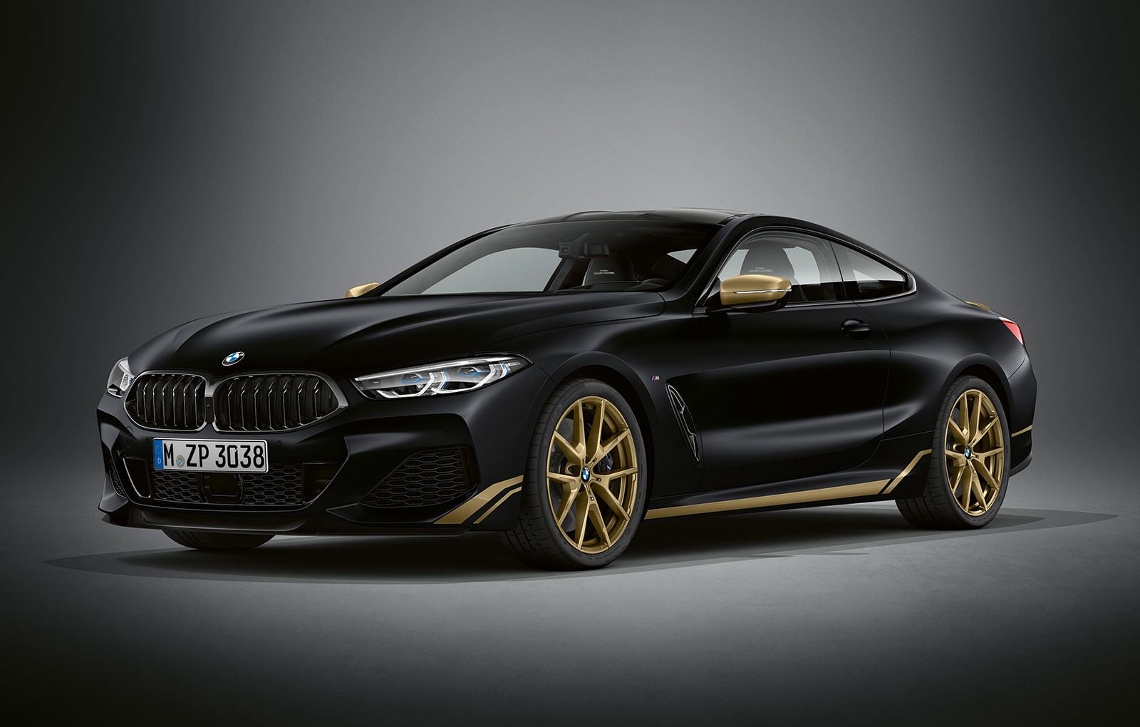BMW Seria 8 Golden Thunder Edition - BMW Seria 8 Golden Thunder Edition