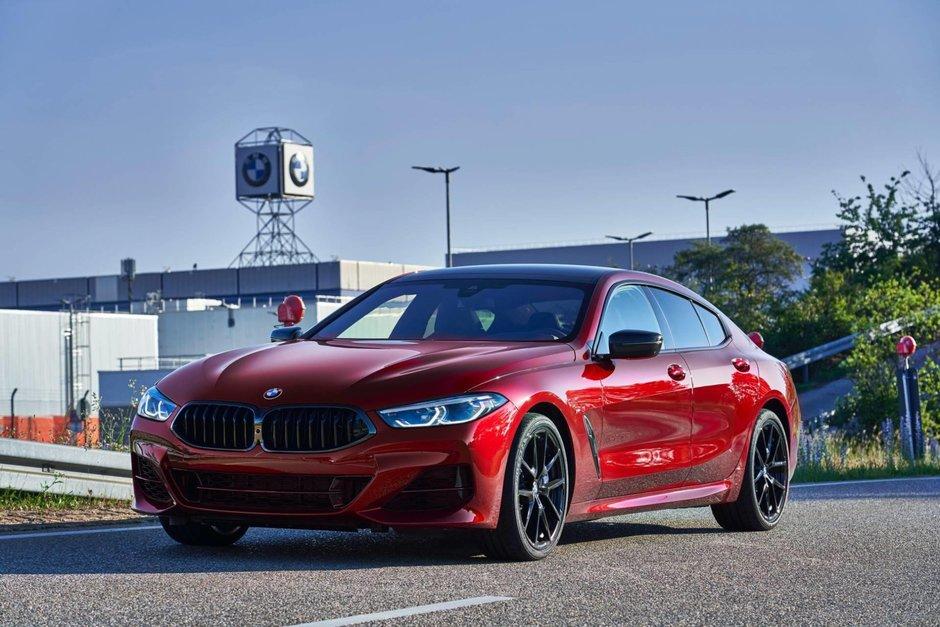 BMW Seria 8 Gran Coupe pe linia de productie