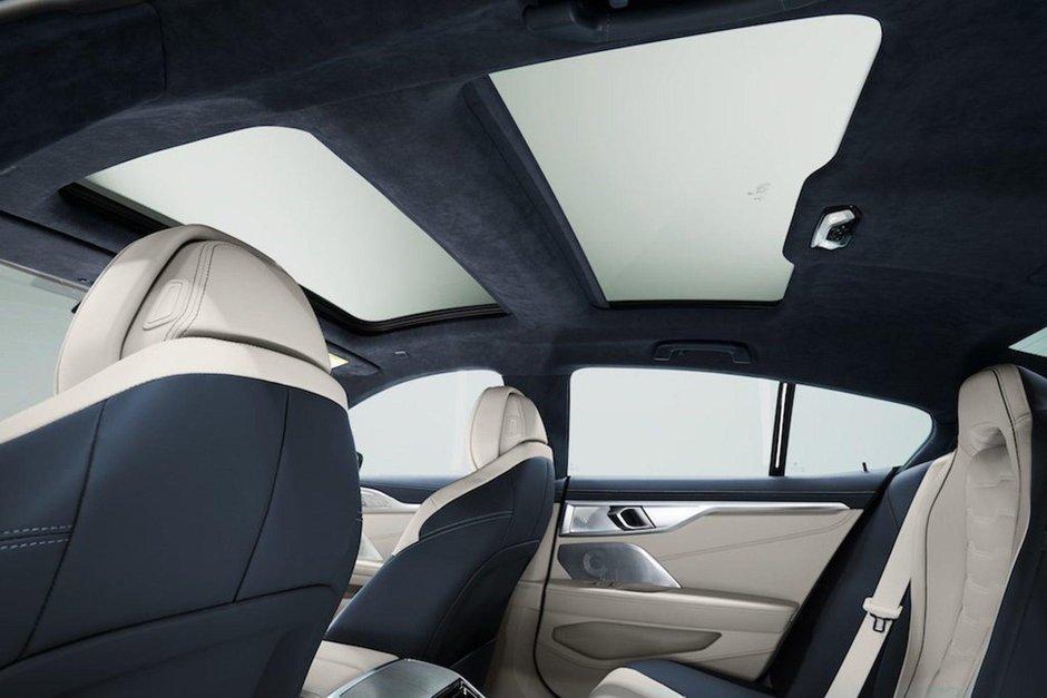 BMW Seria 8 Gran Coupe - Poze de la interior