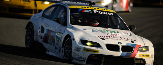 BMW Team RLL a urcat pe podium la Laguna Seca