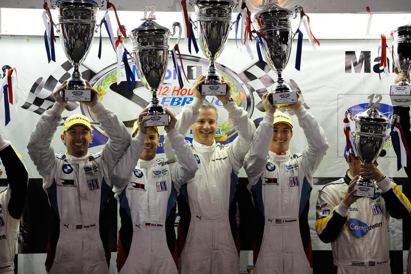 BMW Team RLL se impune in cursa de 12 ore de la Sebring
