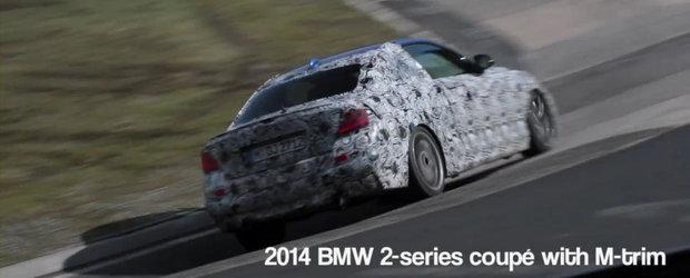 BMW testeaza la Nurburgring trei noi modele: M3, i8 si Seria 2!