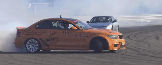 BMW-ul asta 1M cu motor V10 devoreaza cauciucuri ca nimeni altul