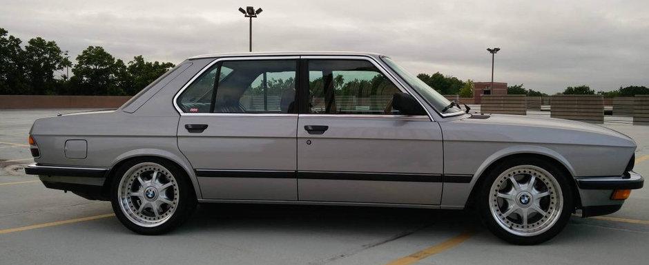BMW-ul care a impartit internetul in doua. Motorul original a fost inlocuit c-un V8 de Corvette