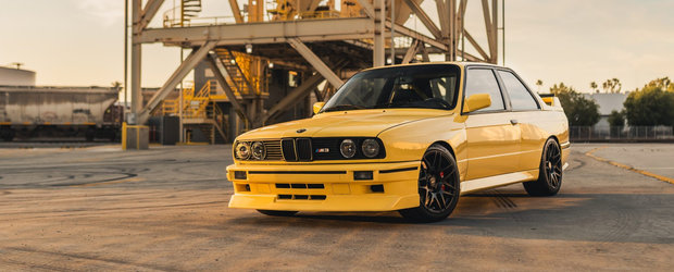 BMW-ul care a impartit internetul in doua. Proprietarul a schimbat motorul original si a revopsit integral caroseria