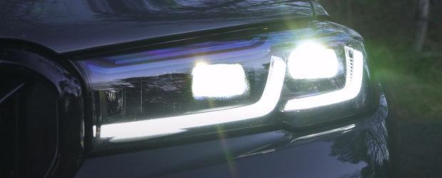 BMW-ul care sfideaza legile fizicii. Cantareste aproape doua tone, dar face suta in doar 2.9 secunde