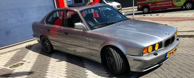 BMW-ul care umileste un Ferrari in linie dreapta. Are motor de Toyota Supra si e de vanzare