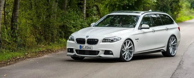 BMW-ul F10 cu jante pe 22 inch promite sa imparta internetul in doua