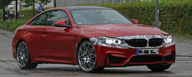 BMW-ul M4 facelift isi va surprinde fanii cu o putere crescuta a motorului