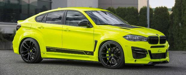 BMW-ul X6 M tunat de Lumma Design te lasa cu gura cascata. Are 750 de cai si prinde peste 300 de km/h