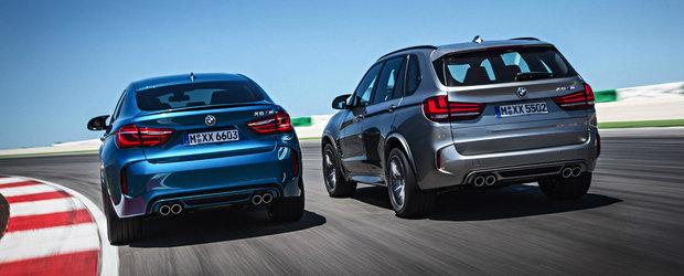 BMW-urile X5 M si X6 M vor fi echipate cu anvelope Michelin Pilot Super Sport