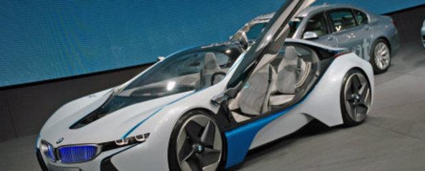 BMW Vision EfficientDynamics Concept a debutat la Frankfurt