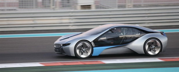 BMW Vision EfficientDynamics cucereste Abu Dhabi-ul!