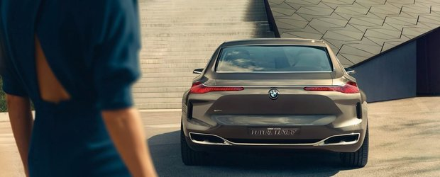 BMW Vision Future Luxury, conceptul care anticipeaza noua Serie 7
