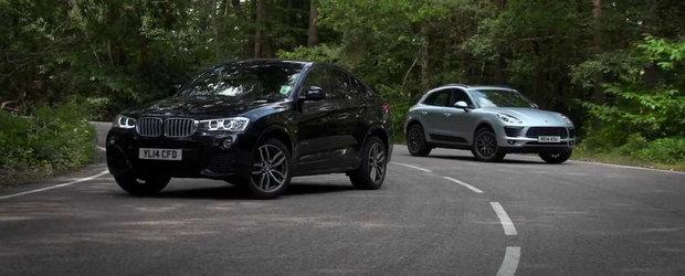 BMW vs Porsche: Noul X4 da piept cu Macan. Tu ce alegi?