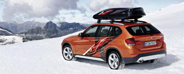 BMW X1 Powder Ride Edition - Special pentru iubitorii sporturilor de iarna!