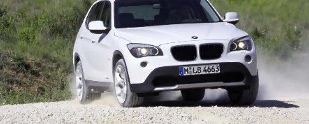 BMW X1 - Primele fotografii oficiale