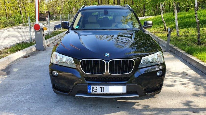 BMW X3 2.0 TDI 184 cp x-drive trapa panoramica, fab. 2011