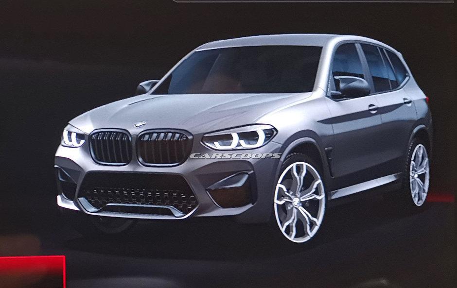 BMW X3 M - Primele poze