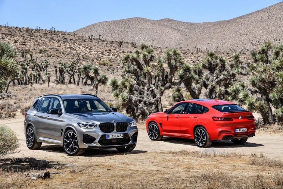 BMW X3 M si X4 M