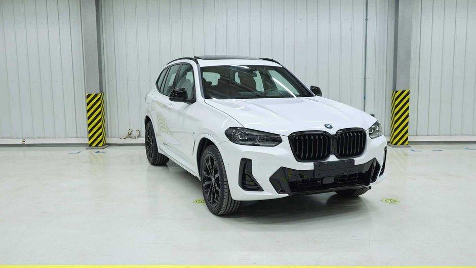 BMW X3 si iX3 Facelift