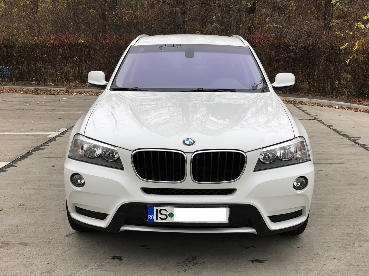 BMW X3 x-drive 184 cp an fab. 2011