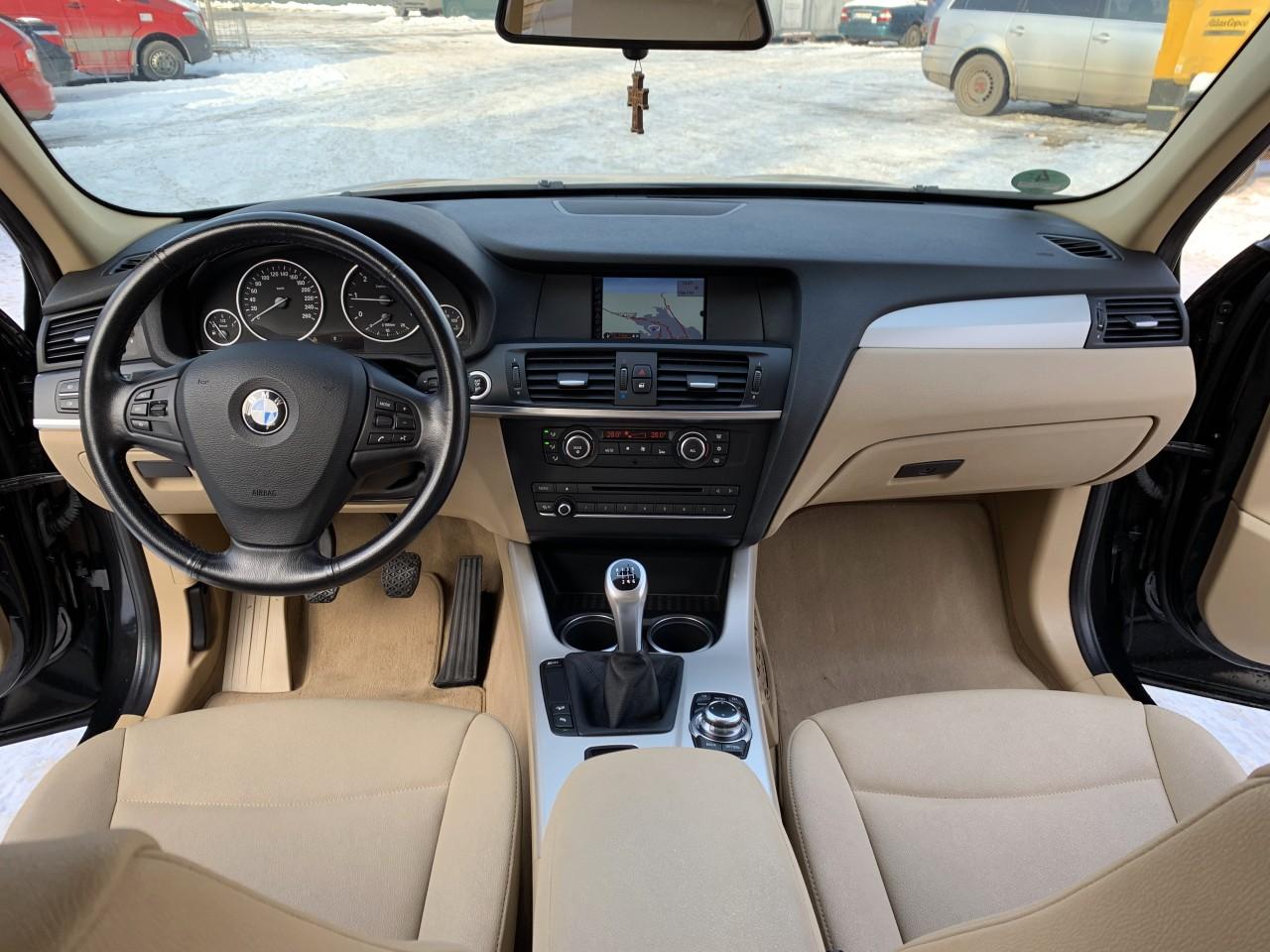 BMW X3 x-drive fab. 2011/ 2.0d 184 cp 2011