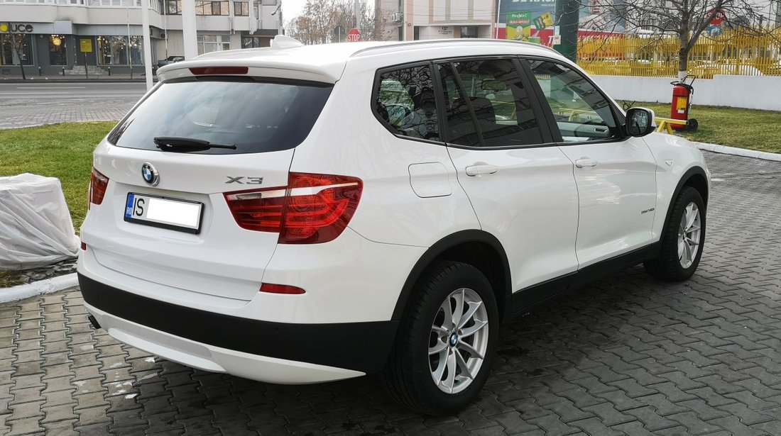 BMW X3 x-drive fab. 2011/ 2.0d 184 cp euro 5 , 2011