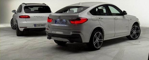 BMW X4 vs Porsche Macan: Ce alegi si de ce?